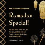 Ramadan perfume offer