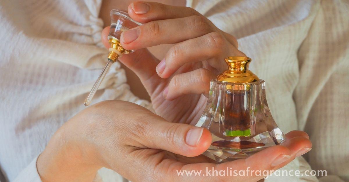 Apply Attar Perfume Oil